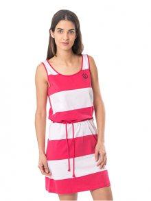 Heavy Tools Dámské šaty Vitora S18-190 Strawberry XS