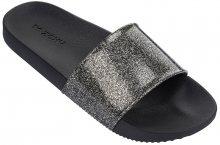 Zaxy Dámské pantofle Snap Slide Glitter Fem 82440-90288 Glitter Black 35-36