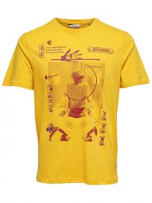 ONLY&SONS Pánské triko Fabio SS Tee Spectra Yellow S