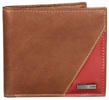 Storm Pánská kožená peněženka Flash Leather Wallet Brown/rust STABY85