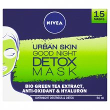 Nivea Noční detoxikační maska Urban Skin (Good Night Detox Mask) 50 ml