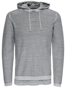ONLY&SONS Pánská mikina Wincent 12 Hoodie Knit Griffin S