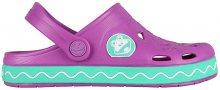 Coqui Dětské pantofle Froggy 8801 New purple/mint 101970 26-27