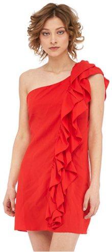 Fornarina Dámské šaty Leila-Rosso Abito M