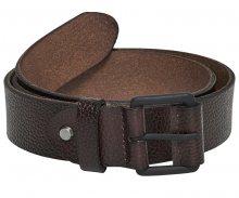 ONLY&SONS Pánský opasek Calvin Leather Belt Brown Stone 85 cm