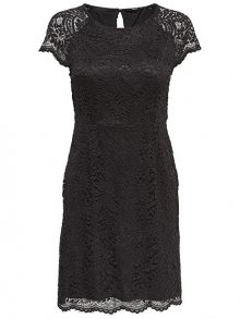 ONLY Dámské šaty Shira Lace Dress Noos Wvn Black 34