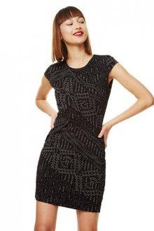 Desigual Dámské šaty Vest Anouk 17WWVK58 2000 XS