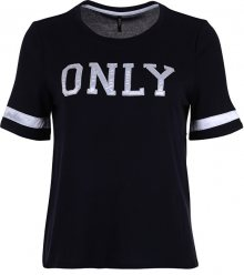 ONLY Dámské triko Mia S/S Only Logo Top Jrs Night Sky S