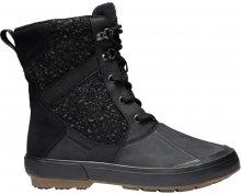 KEEN Dámské zimní boty Elsa II Wool WP Black/Raven 36