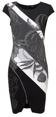 Desigual Dámské šaty Vest Mojavec Negro 19SWVKAR 2000 S
