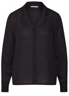 ONLY Dámská košile Amelia Life L/S Shirt Wvn Black 34
