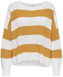 ONLY Dámský svetr Campos L/S Oversize Pullover Knt Golden Yellow M