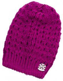 CAPU Zimní čepice 354-D Fuchsia
