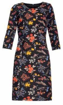 Smashed Lemon Dámské šaty Black/Multi 18889 S