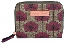 Tamaris Dámská peněženka Fiorella Zip Around Wallet 7145182-544 Bordeaux Comb.