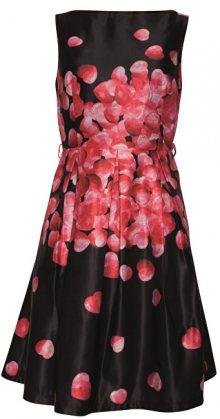 Smashed Lemon Dámské šaty Black/Pink 18614 XS