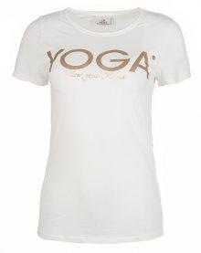 Deha Dámské triko T-Shirt B84670 Snow S