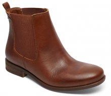 Roxy Kotníčkové boty Diaz Dark Brown ARJB700542-DBR 40