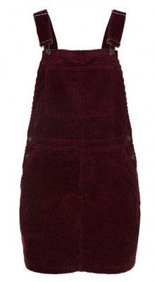 Vero Moda Dámské šaty Greta Dungaree Dress 10204827 Winetasting S