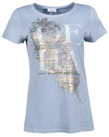 Deha Dámské triko T-Shirt B84150 Dusty Blue XS