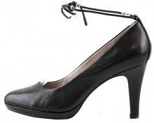 s.Oliver Elegantní dámské lodičky 5-5-22414-28-003 Black Leather 36