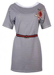 Fornarina Dámské šaty Tamara-Blue Dress S