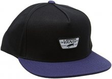 VANS Pánská kšiltovka Mini Full Patch II Snapback Black/Dress Blues VA36I6IZO