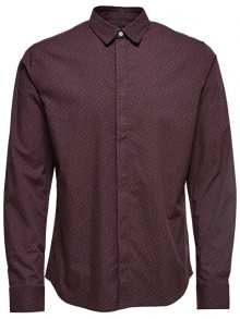 ONLY&SONS Pánská košile Otto Ls Ditsy Aop Shirt Fudge S