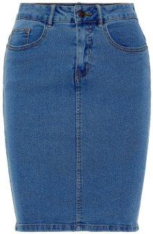 Vero Moda Dámská sukně Hot Nine Hw Dnm Pencil Skirt Mix Noos Medium Blue Denim XS
