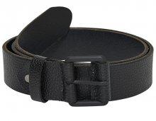 ONLY&SONS Pánský opasek Calvin Leather Belt Black 85 cm