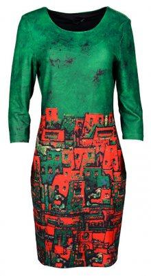 Smashed Lemon Dámské šaty Green 18536 S