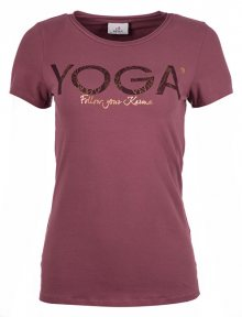Deha Dámské triko T-Shirt B84670 Rose Taupe M