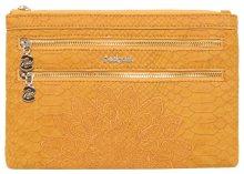 Desigual Peněženka Mone Aquiles Multi Zip Ocre 18WAYP24 8019