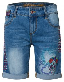 Desigual Dámské kraťasy Denim Catrina Denim Medium Light 19SWDD12 5160 26