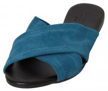 Pieces Dámské pantofle Marnie Suede Sandal Seaport 36