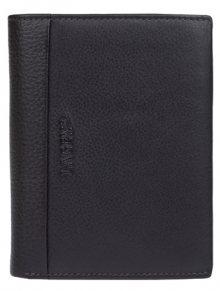 Lagen Pánská tmavě hnědá kožená peněženka Dark Brown/Brown 5641