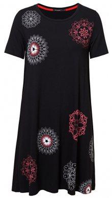 Desigual Dámské šaty Vest Liricaa Negro 19SWVK86 2000 XS