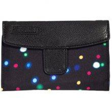 Meatfly Dámská peněženka Needle Lights Neon, Black
