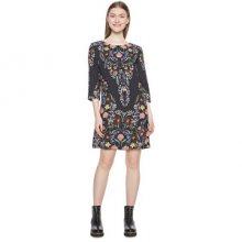 Desigual Dámské šaty Vest Clementine Negro 18WWVW17 2000 40