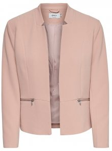 ONLY Dámský blejzr Minna Maddy Zip Blazer Tlr Misty Rose 34