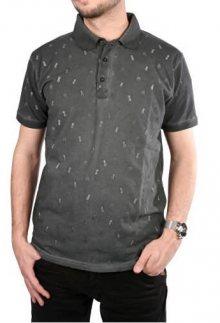Cars Jeans Pánské šedé tričko s potiskem Lucio Antra 4245717 M