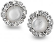 Hot Diamonds Stříbrné náušnice Emozioni Iridesente EE033