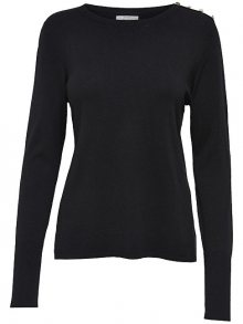 ONLY Dámský svetr Dina L/S Pullover Knt Noos Black XS