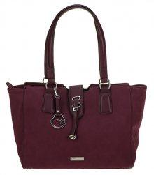 Tamaris Dámská kabelka Vina Shopping Bag 2769182-544 Bordeaux Comb