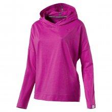 Puma ESS Hooded Cover Up W růžová S