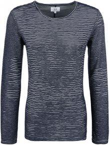 Q/S designed by Pánské modré triko s dlouhým rukávem M