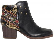 Desigual Dámské kotníkové boty Shoes Country Exotic Negro 18WSAP08 2000 36