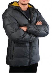 s.Oliver Pánská prošívaná bunda 28.709.51.7217.9581 Grey XL