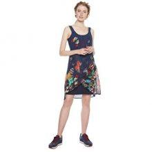 Desigual Dámské šaty Vest Butterfly Azafata 18WWVWA5 5027 42