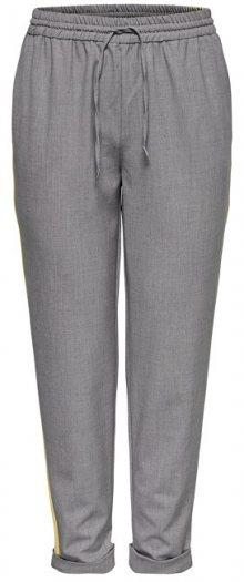 ONLY Dámské kalhoty Roma Panel Pants Tlr Light Grey 34